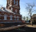 В Тульской области восстанавливают Свято-Никольский храм