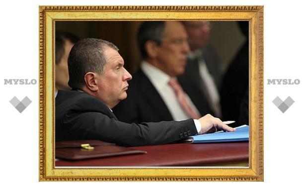 Сечин гарантировал Белоруссии поставки российского газа
