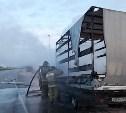 Утром 2 июня в Киреевском районе сгорел грузовик