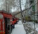 В Туле на улице Ю. Фучика при пожаре пенсионерка отравилась угарным газом