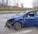 В аварии на М4 пострадали двое маленьких детей