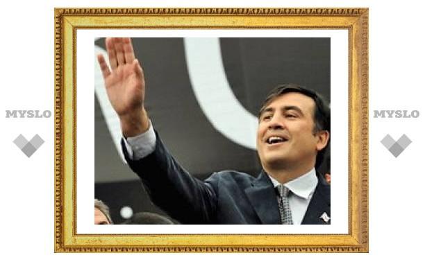 """Саакашвили сравнил свою """"миссию"""" с подвигом святого Георгия, а Россию - с деспотичным императором Диоклетианом"""