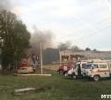 Очевидцы: На территории типографии «Шар» в Первомайском прогремел взрыв
