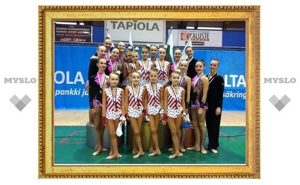 Тульские юные гимнастки выиграли турнир в Финляндии