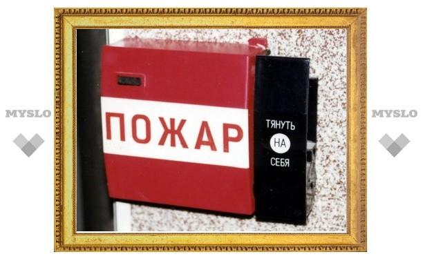 Власти Тульской области вложат в пожарную безопасность почти 400 миллионов рублей