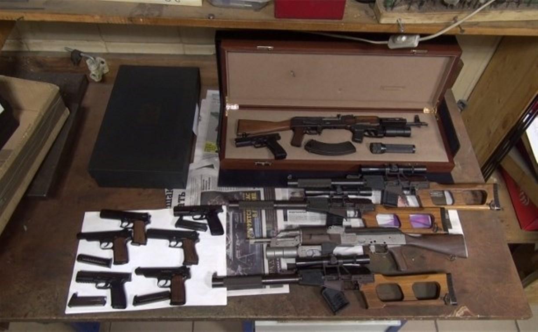 Расследование дела туляка, продавшего автомат за 3 млн рублей, вывело полицию на склад оружия