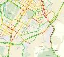 Новомосковское шоссе встало в огромной пробке