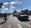 В Туле на ул. Рязанской столкнулись три машины