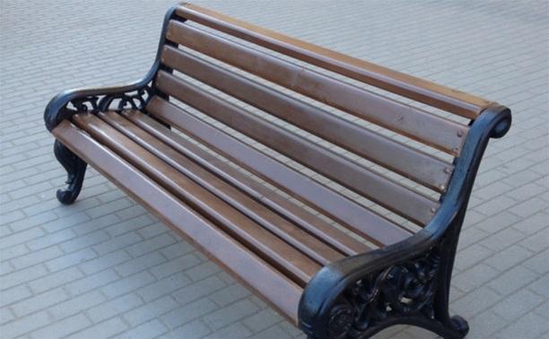 В Туле установят 100 новых скамеек