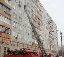 Утром в Туле в горящей квартире пострадала женщина