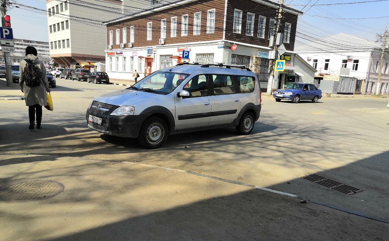 «Накажи автохама»: в Туле замечен бог парковки