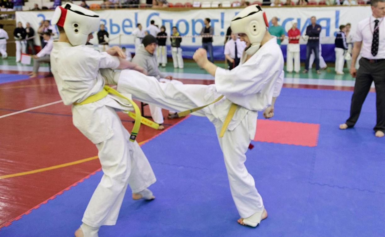 В Туле проходят чемпионат и первенство региона по каратэ