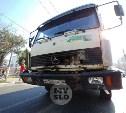 В Туле на ул. Ложевой грузовик устроил массовое ДТП