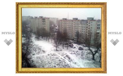 Долгожданный снегопад начался в Туле?