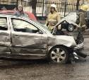 В Туле на улице Болдина произошла страшная авария