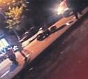 Рядом с кафе «Лимон» ночью столкнулись легковушка и мотоцикл