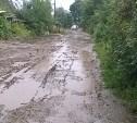 Дорога в Щёкино превратилась в болото после ремонта теплотрассы