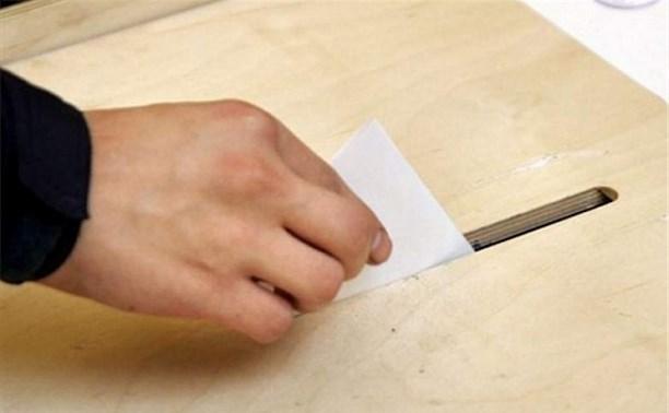 Определено количество открепительных на выборах в Тульской области