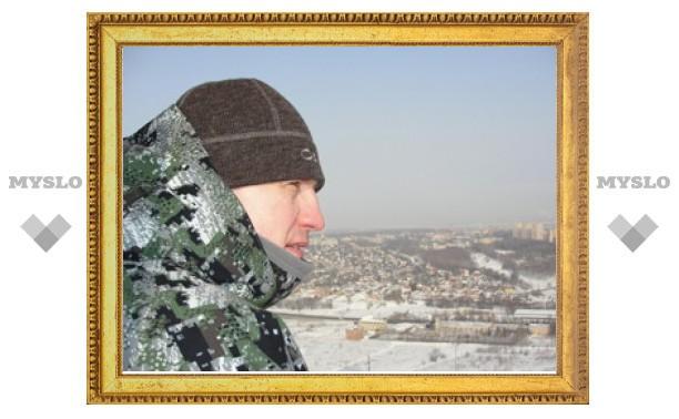 Евгений Авилов и Денис Бычков осмотрели Тулу с воздушного шара