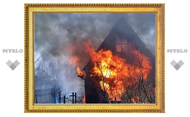 В Заокском районе едва не сгорел пенсионер