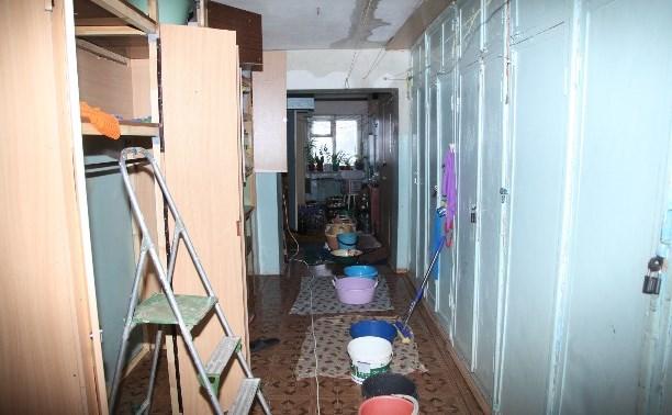 Прокуратура потребовала оштрафовать директора тульской УК, устроившей потоп в доме на Красноармейском