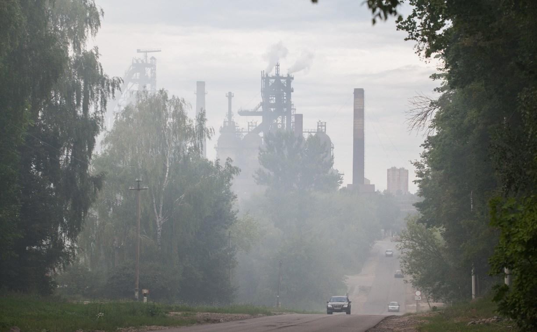 Туляки сообщают о выбросе на Косогорском металлургическом заводе