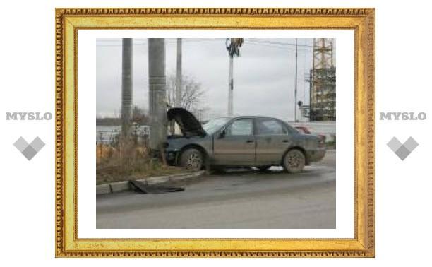 В Туле произошла странная авария