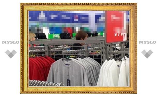 В Туле парочку из Волгограда и Москвы поймали за кражей одежды из бутиков