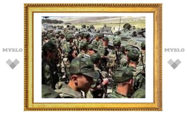 Российские войска начали покидать Гори