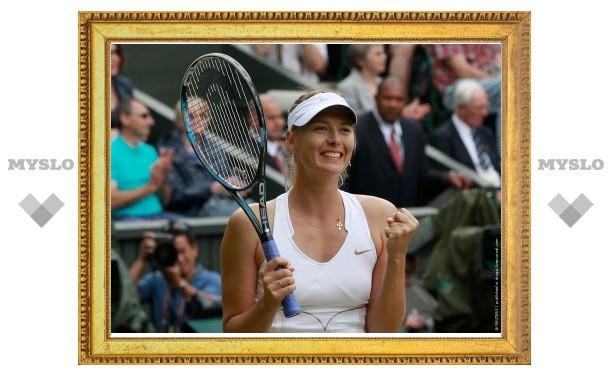 Мария Шарапова вышла в четвертьфинал олимпийского турнира