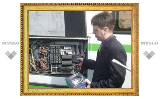 707 тульских автобусов «подключено» к космосу