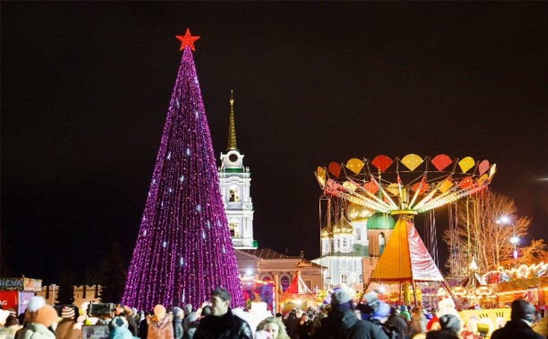 Новогодняя елка на площади Ленина откроется 25 декабря
