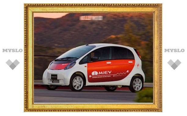 Mitsubishi сделает версию электрокара i-MiEV для поездок в магазин