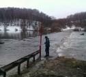 На реке Оке затоплены два низководных моста