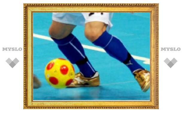 В Тульской области проходит юношеский футбольный турнир