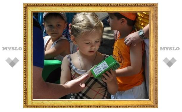 8 июля тульские детишки выиграли призы в детском зоопарке