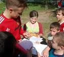 Футболисты «Арсенала-2» устроили мастер-класс для детей из барсуковского интерната