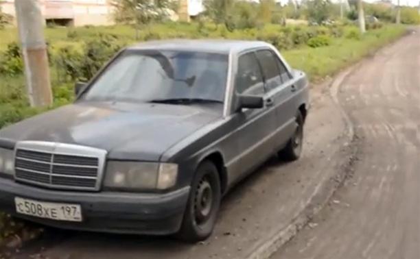 Туляк снял видеоролик о «находчивости» дорожных рабочих