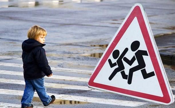 Рядом с тульскими школами нарушаются правила содержания дорог