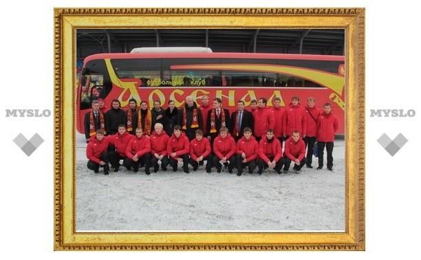 Тульский «Арсенал» поборется на выезде с командой из Калуги