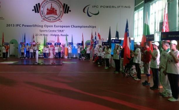 Тульская область впервые принимает чемпионат Европы по пауэрлифтингу