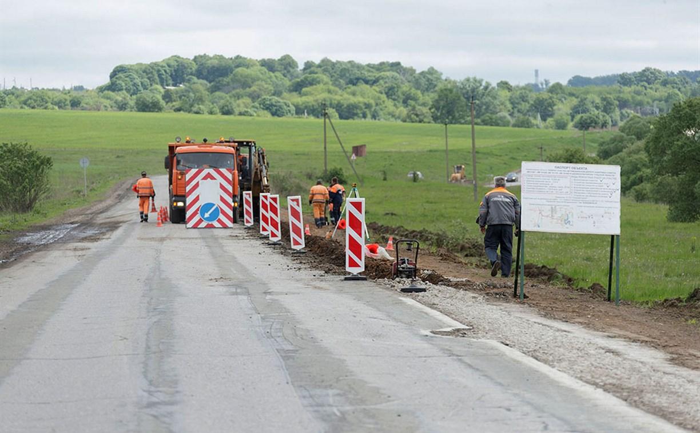 За сезон в Тульской области планируется отремонтировать 115 км дорог