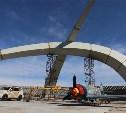 Владимир Осипов проинспектировал строительство памятника «Защитникам неба Отечества»