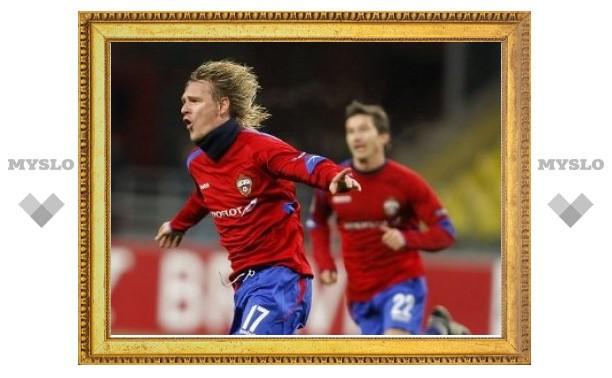 ЦСКА избежал исключения из Лиги чемпионов