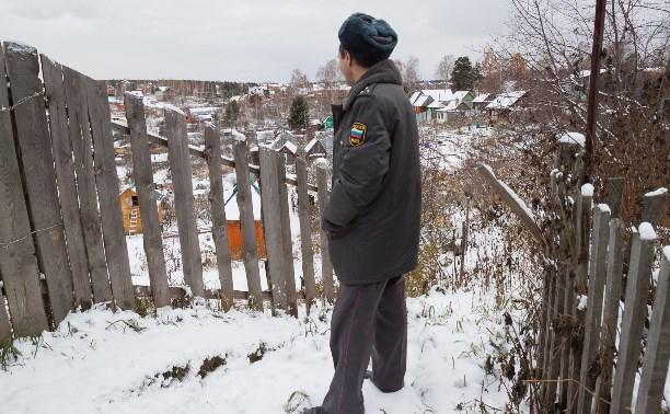 В Суворове участковый спас жизнь заблудившемуся пенсионеру