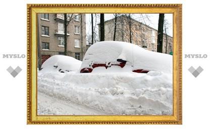 У Управляющей компании нет денег на вывоз снега из дворов