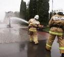 В Центральном парке отпраздновали 366-летие пожарной охраны