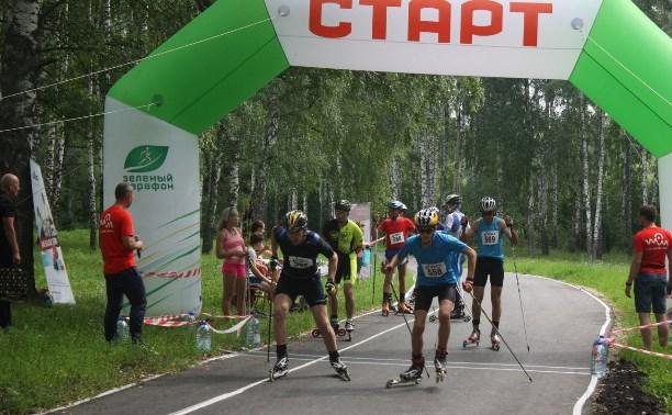 В Киреевске состоялся федеральный лыжероллерный марафон