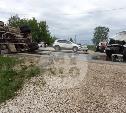 В Туле столкнулись две ассенизаторские машины
