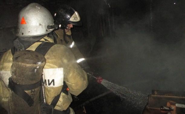 В Узловой сгорела квартира: пострадал молодой человек